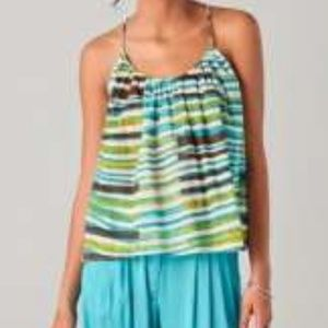 Thakoon Addition Flowy Cotton Swing Tank